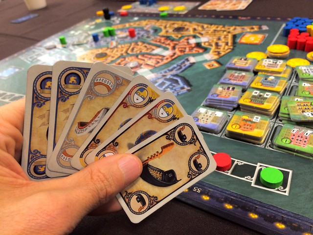 Rialto Cards And Board