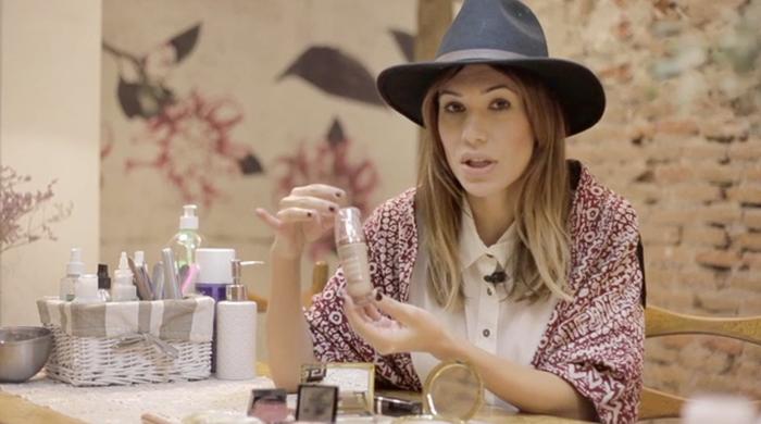 beautips barbara crespo look miranda kerr beautyque nail bar madrid beauty report make up tips