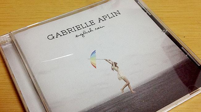 Gabrielle Aplin(ガブリエル・アプリン)の『English Rain』