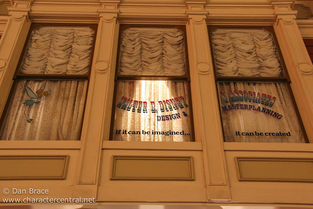 Walt's Window in World Bazaar