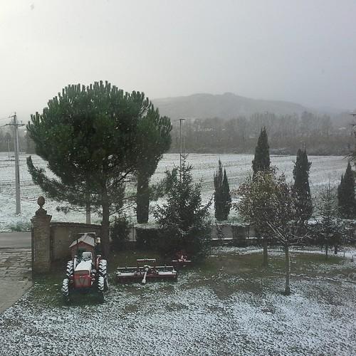 Risveglio bianco in Umbria