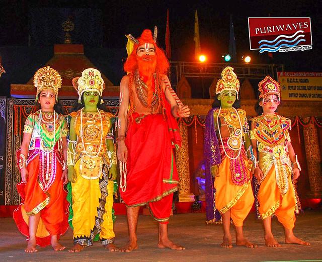 Rama janma act performed in Srikhetra Mahostav