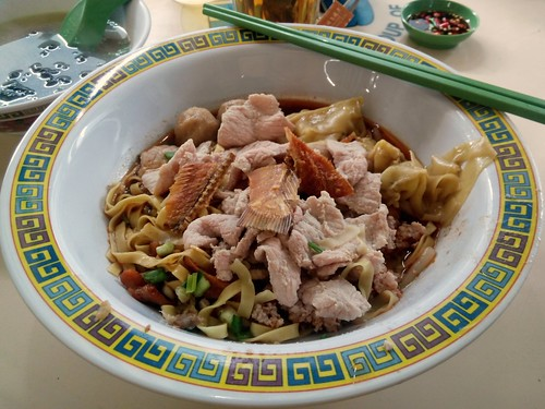 The S$10 (US$8) Bowl at Tai Wah Pork Noodle