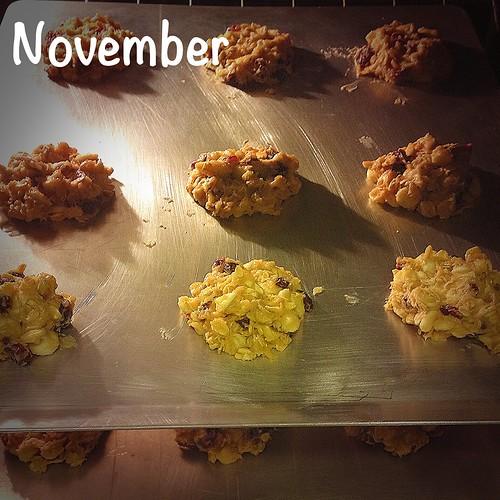 November- Baking Cookies