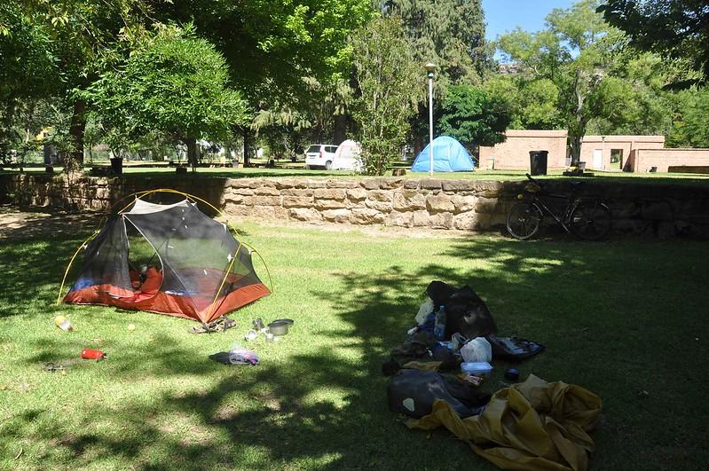 Campsite in Ficksburg