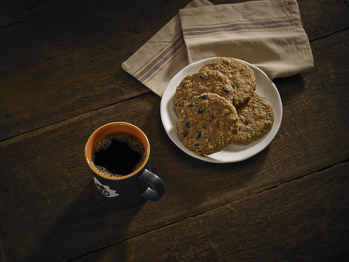 OLD FASHIONED OATMEAL COOKIE WITH BLUEBERRIES, by LivingMarjorney
