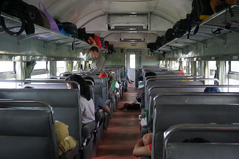 Business class train Yogyakarta - Surabaya