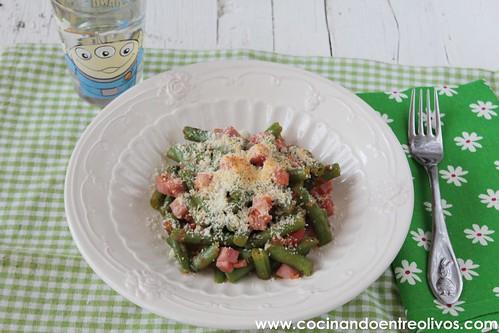 Judías verdes a la italiana www.cocinandoentreolivos (1)