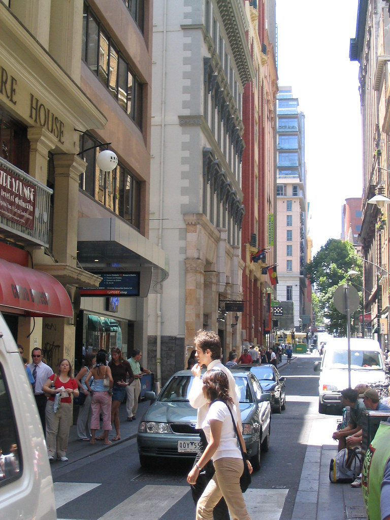 Flinders Lane (January 2004)