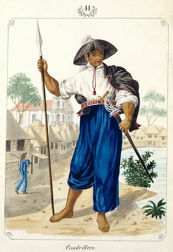 015-Cuadrillero-Vistas de las Yslas Filipinas y Trages…1847-J.H. Lozano- Biblioteca Digital Hispánica