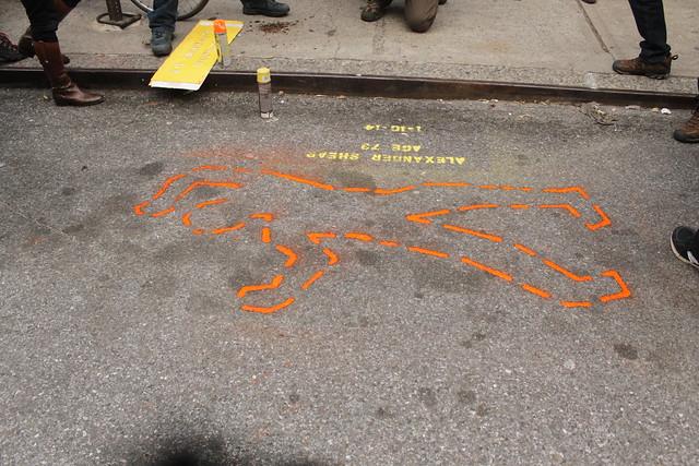 walker death outline nyc