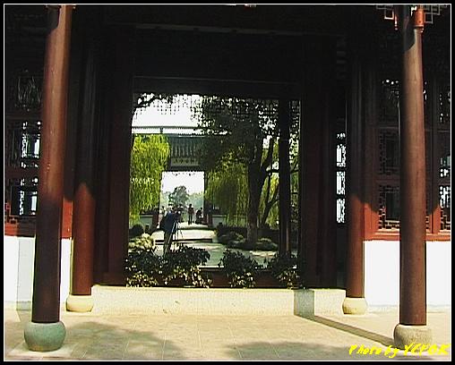 杭州 西湖 (其他景點) - 414 (西湖小瀛洲 小瀛州上的自拍鏡 天水合群)