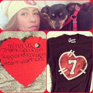 Colin Kaepernick Heart Warriors T-Shirt By Sportiqe Apparel