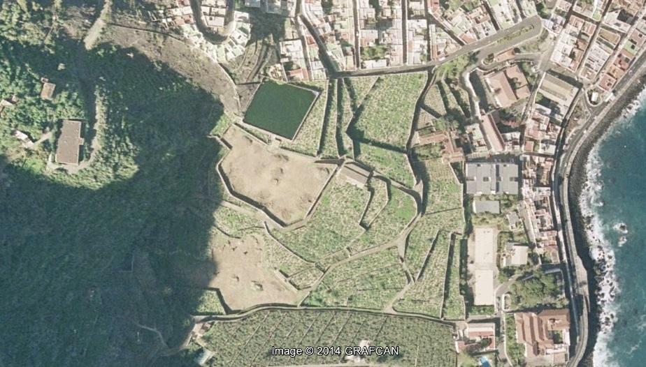 antes, urbanismo, foto aérea, desastre, urbanístico, planeamiento, urbano, construcción,Garachico, Tenerife, Santa Cruz de Tenerife