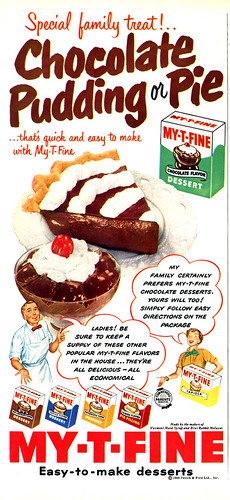 My-T-Fine Pudding by Shelf Life Taste Test