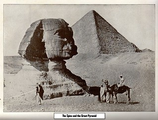 The Spinx and the Great Pyramid 1913