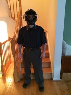Mark, the umpire