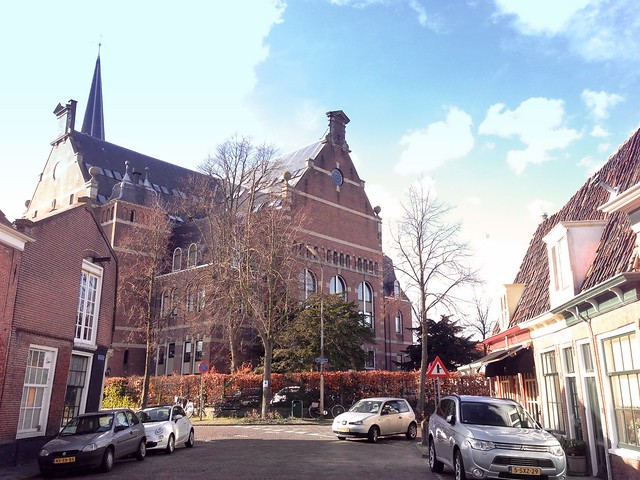 Big church in Hoorn