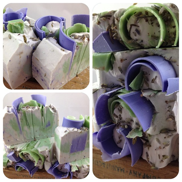 Lavender Mint Soap by The Daily Scrub