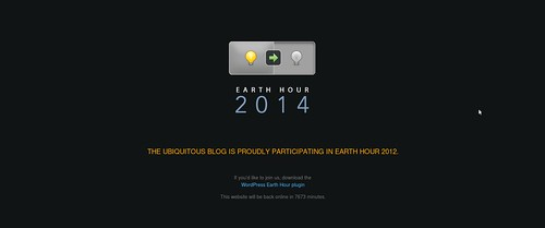 Earth Hour preview