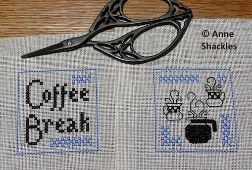 Cross Stitch Happy-Coffee Break