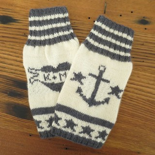 Iron Craft '14 Challenge 7 - Hello Sailor Handwarmers