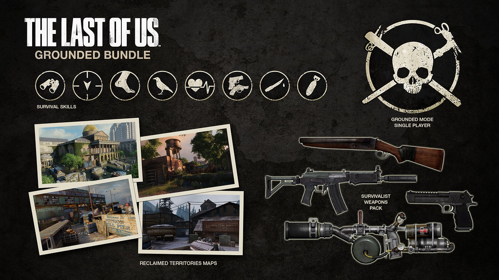 The Last Of Us Grounded Bundle DLC Detailed In Full PlayStation - The last of us remastered maps
