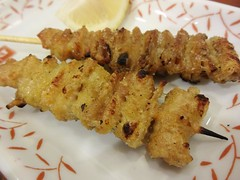 Chicken Skin on Skewer @Yakitori Daikichi, Guyang…