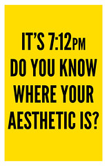 DO YOU KNOW WHERE YOUR AESTHETIC IS?