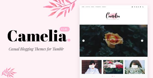 Camelia v1.01 – Responsive Blogging Tumblr Theme