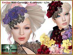 Bliensen - Emilia - Hair Corsage