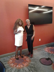 Janice and Miss Anastasia at the 2017 FOCUS ON LIVING VICTORIOUSLY event at the Homewood Suites in Trophy Club Texas