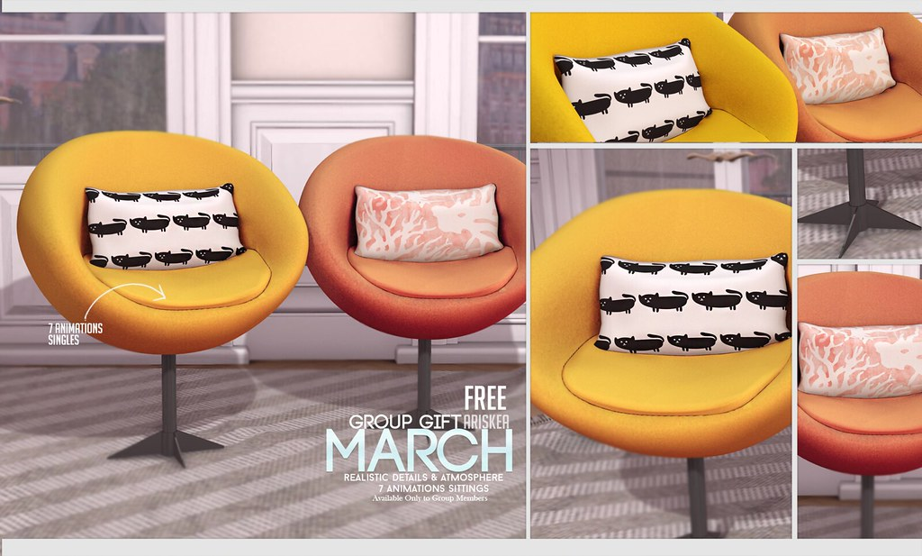 Ariskea March Group Gift ! - SecondLifeHub.com