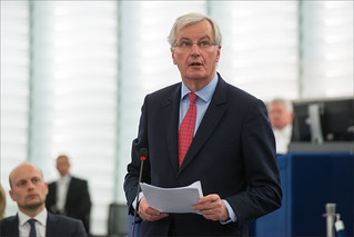 Brexit: MEPs agree on key conditions for approving UK withdrawal agreement - Michel Barnier