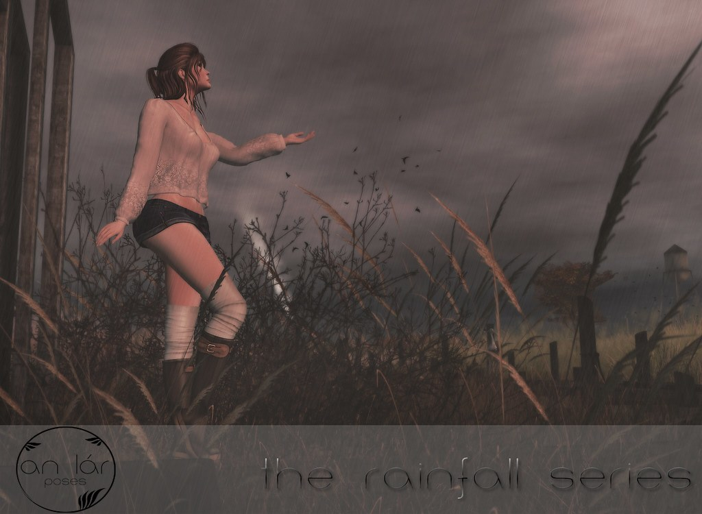 an lár [poses] The Rainfall Series - SecondLifeHub.com