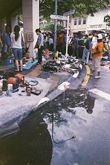 Kodak MAX 400 : Street after the rain