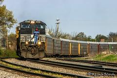 NS 8901 | GE C40-9W | NS Memphis District