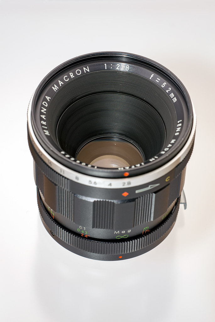 MIRANDA MACRON 1:2.8 f=52mm