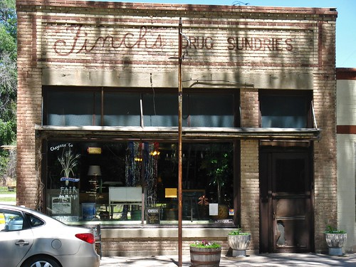 lodgepole nebraska midwest roadtrip fitchs drugstore store storefront building architecture