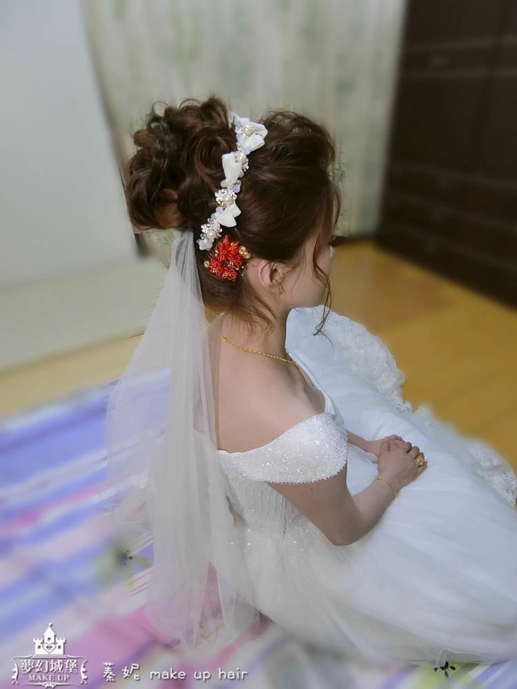 【新秘蓁妮】bride姿婷 結婚造型 / 台中自宅