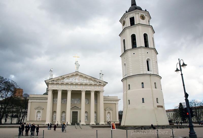Cathédrale de Vilnius en Lituanie