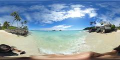 Punawai aka Lanikai Beach - a 360 degree Equirectangular VR