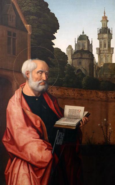 Jean Provoost (1465-1529) San Pietro (1515-1520) - Sala dei Fiamminghi - Palazzo Bianco - Genova