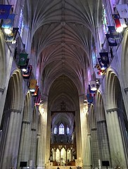 National Cathedral ~ looking down the nave