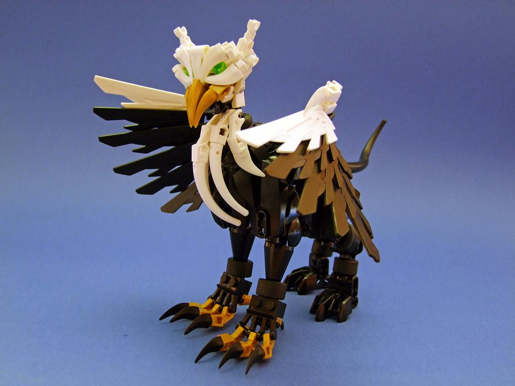 Black Gryphon (custom built Lego model)