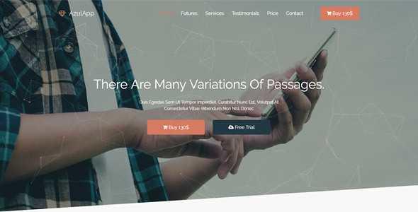 Azulapp WordPress Theme free download
