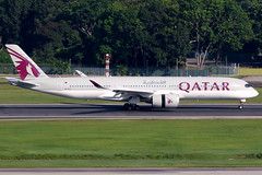 Qatar Airways | Airbus A350-900 | A7-ALG | Singapore Changi