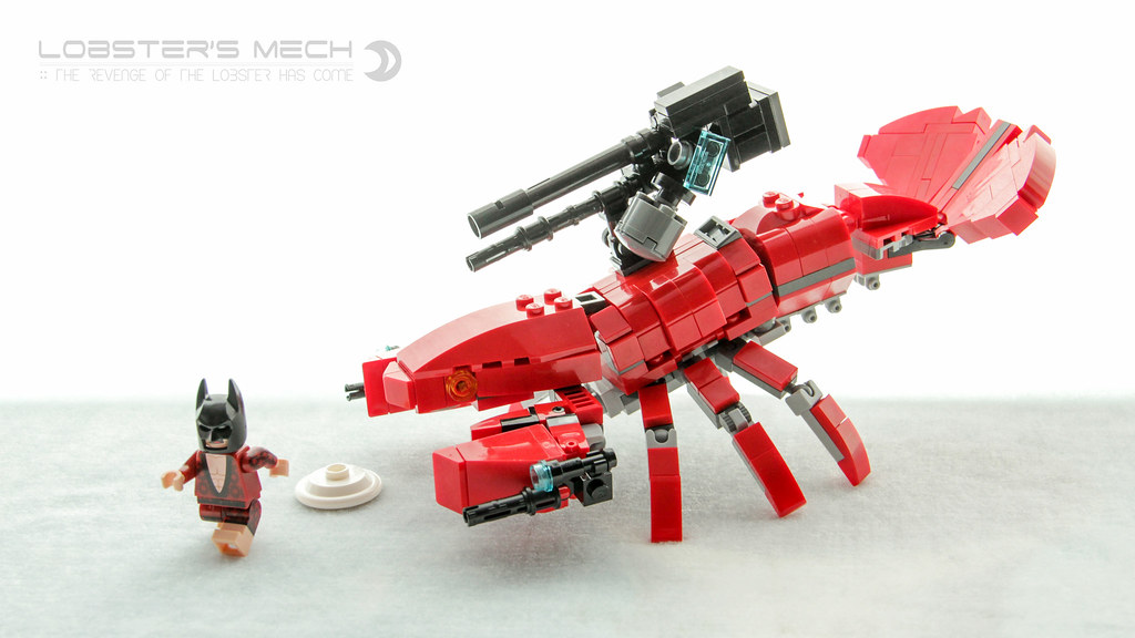 The Revenge of the Lobster (custom built Lego model)
