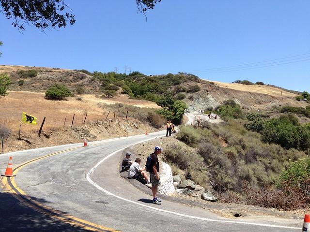 Daunting hill