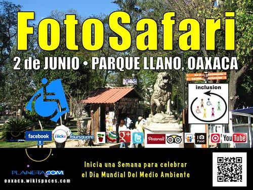 Paseo Incluyente FotoSafari en Oaxaca de Juárez, México #wed2013 #rtyear2013 @UNEP